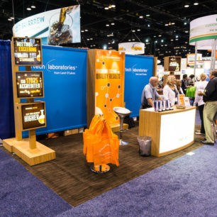 brown floor trade show booth ideas brown floor design - Photo Booth Design Ideas