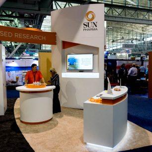 Orange Trade Show Booth Ideas