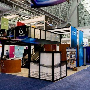 30x30 Trade Show Booth Ideas | 30x30 Design