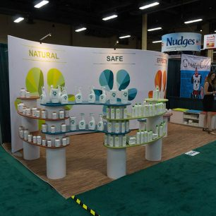 curved Trade Show Booth Ideas | curved Design