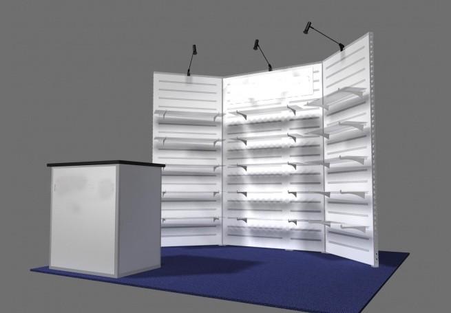 10u2032 Design U2013 10×10 Trade Show Booth