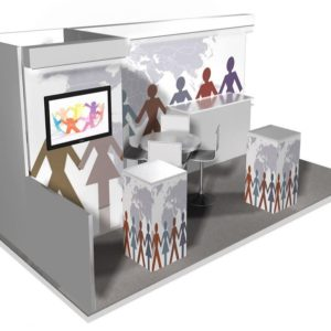 10×20 Trade Show Booth