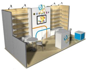 trade show booth displays 20ft
