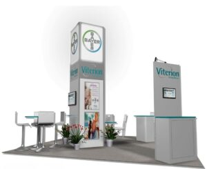 20x20 booth ideas and designs for trade shows
