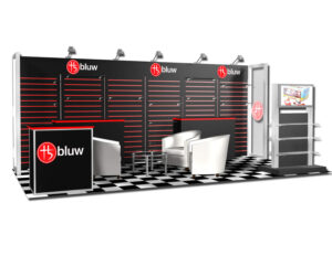 10x20 Booth Space Design