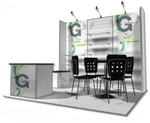 10×10 Trade Show Booth