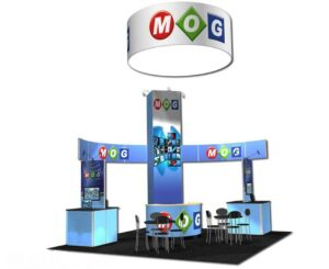 20×20 Trade Show Booth