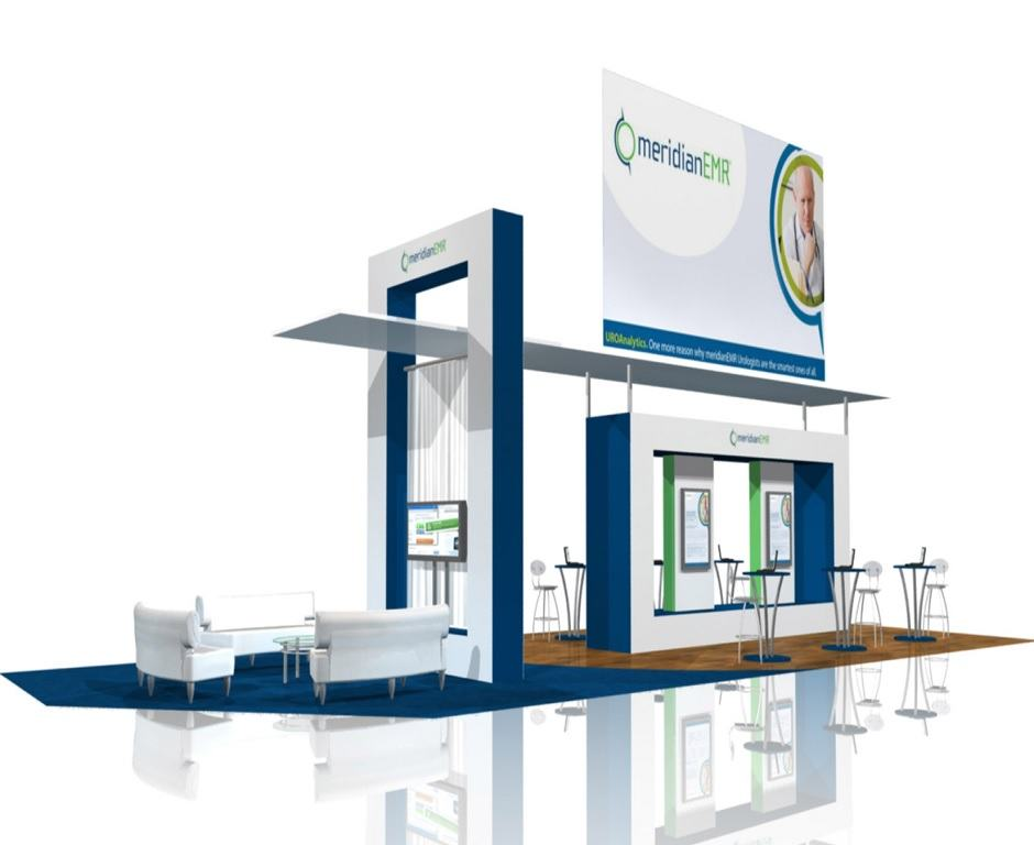 Meridian Larger Trade Show Booth Booth Design Ideas