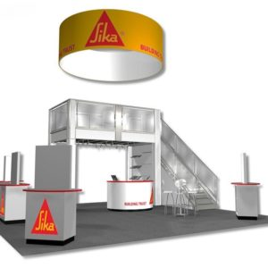 Large Trade Show Booth