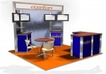 Axelon 10x10 Trade Show Booth