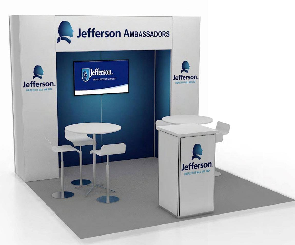 Jefferson Ambassadors - 10x10 Trade Show Booth - Booth ...