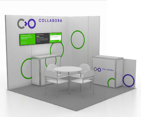 10x10 Trade Show Booth