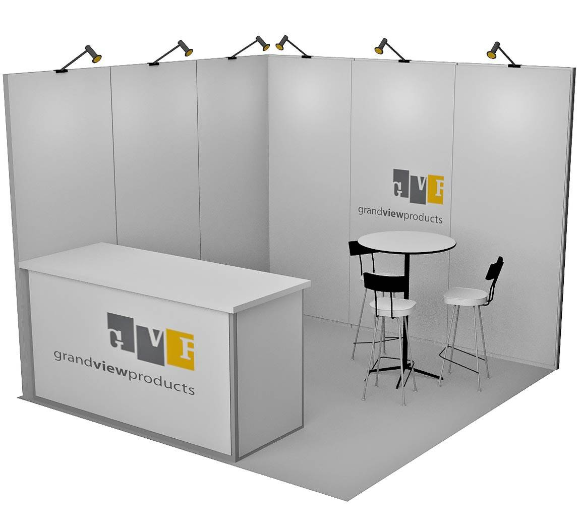 Grand View Products - 10x10 Trade Show Booth - Booth Design ...