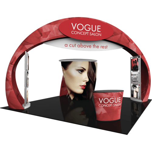 20x20 Trade Show Booth With Arch
