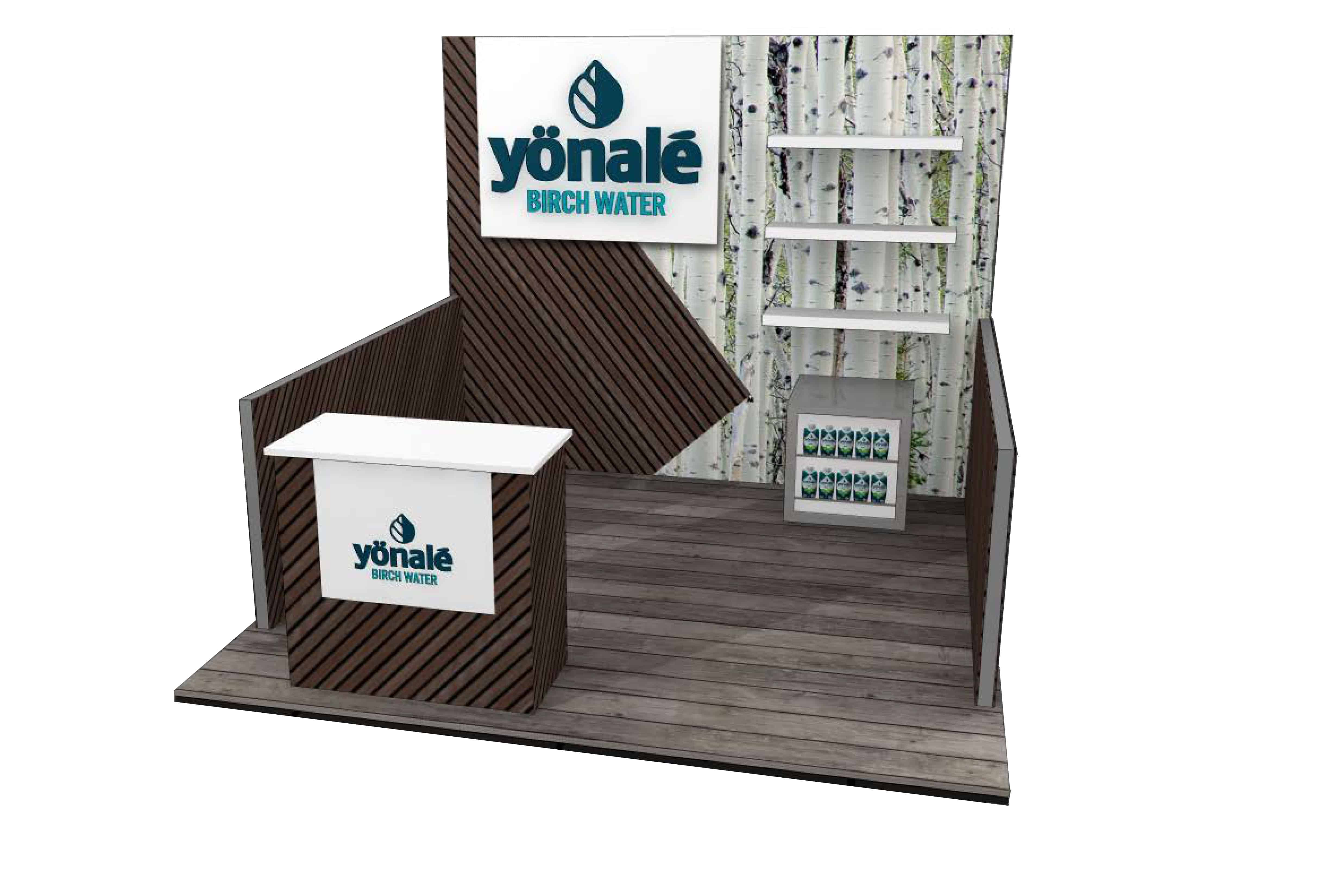 Yonale - 10x10 Trade Show Booth - Booth Design Ideas