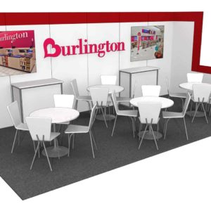 Burlington 10x20 Trade Show Booth Exhibit Ideas