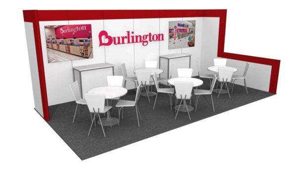 Burlington 10x20 Trade Show Booth Exhibit Ideas