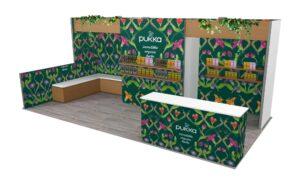 Pukka 10x20 Trade Show Exhibit