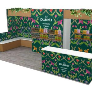 Pukka 10x20 Trade Show Booth Exhibit Ideas