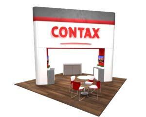 Contax 20x20 Trade Show Booth Exhibit Ideas