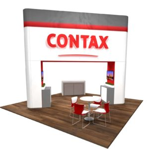 Contax 20x20 Trade Show Booth Exhibit Ideas