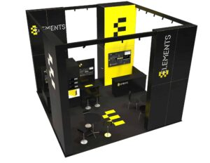Elements 20x20 Trade Show Booth Exhibit Ideas