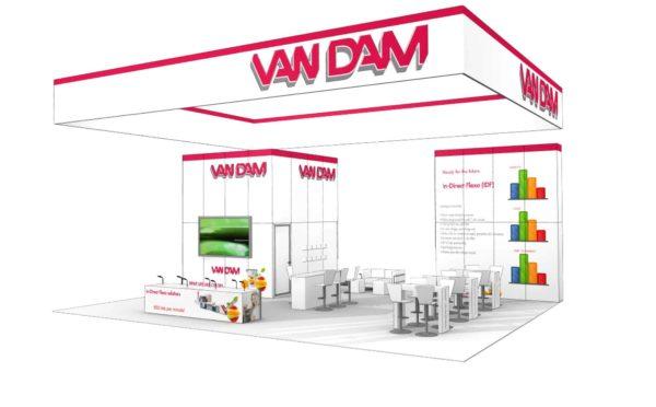 Van Dam 30x40 Trade Show Booth Exhibit Ideas